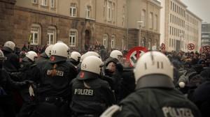 Tomas Rafa:  Antifa Blockade Nazifrei Dresden 2013 Germany