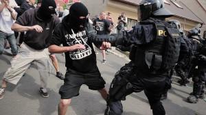 Tomas Rafa: March of extremists of DSSS in Duchcov 2013