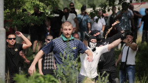 Tomas Rafa: March of extremists of DSSS in Duchcov 2013