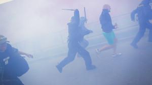 Tomas Rafa: Nationalists in  Ceske Budejovice II protest May 2013